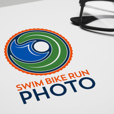 Swim Bike Run Photography - Logo Mockup