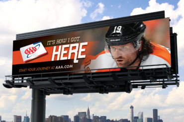 AAA - Flyers Traveling Athlete Billboard